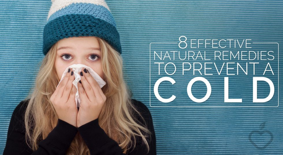 8 Effective Natural Remedies to Prevent a Cold